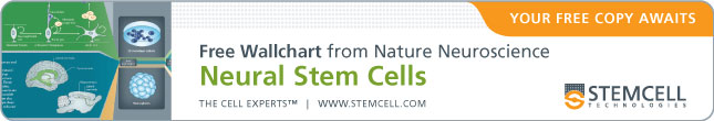 "Your Free Copy of the Nature Neuroscience Wallchart ""Neural Stem Cells"" Awaits."