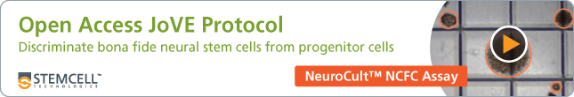 Open Access JoVE Protocol: Discriminating NSCs from NPCs with the NeuroCult™ NCFC Assay