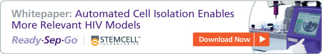 Whitepaper: Automated Cell Isolation Enables More Relevant HIV Models
