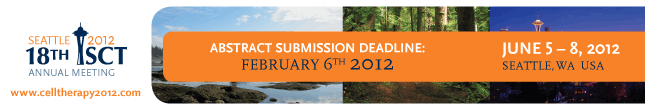 ISCT 2012 Abstract Deadline