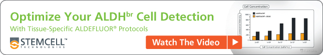Watch the Video: Optimize Your ALDHbr Cell Detection with Tissue-Specific ALDEFLUOR™ Protocols