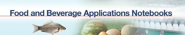Food & Beverage Application Notebooks