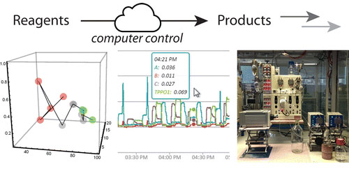 A Novel Internet-Based Reaction Monitoring, Control and Autonomous Self-Optimization Platform for Chemical Synthesis