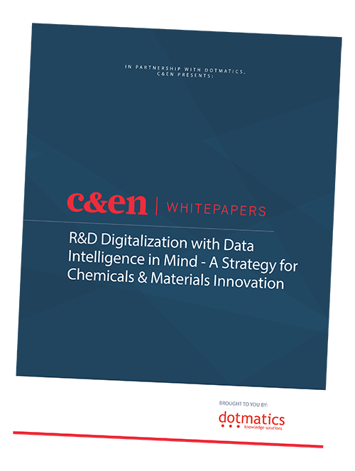 R&D Digitalization with Data Intelligence in Mind -  A Strategy for Chemicals & Materials Innovation