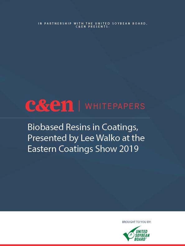 Biobased Resins in Coatings, Presented by Lee Walko at the Eastern Coatings Show 2019