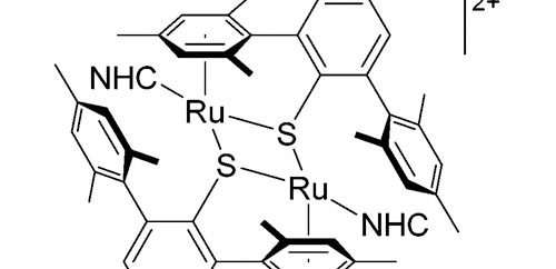 An Air-Stable Dimeric Ru–S Complex with an NHC as Ancillary Ligand for Cooperative Si–H Bond Activation