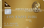 American Express Qantas Corporate Gold