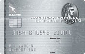 American Express Qantas Corporate Platinum