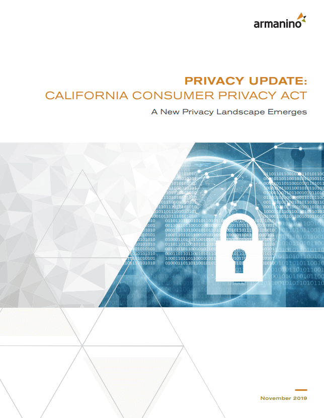 CCPA Compliance ebook / white paper
