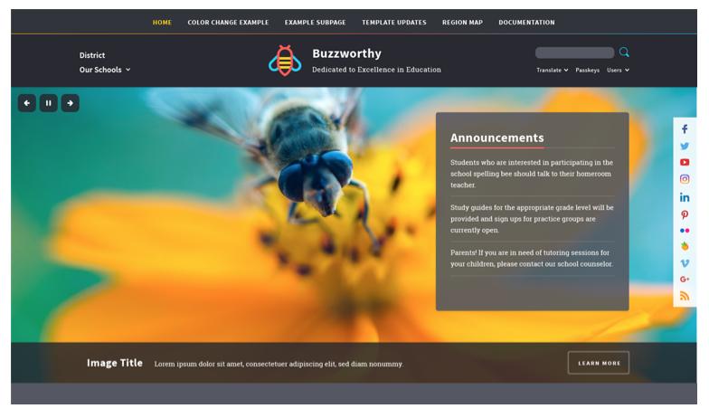 Buzzworthy MyWay Premium Design Template