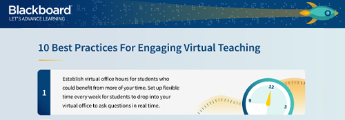 Infographic: 10 Best Practices For Engaging Virtual Teaching