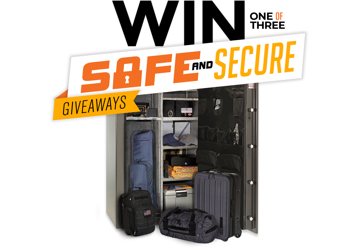 We're giving away safes full of 5.11 gear!