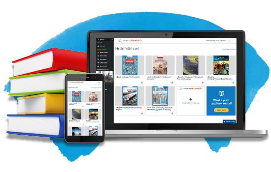 Cengage Unlimited eTextbooks