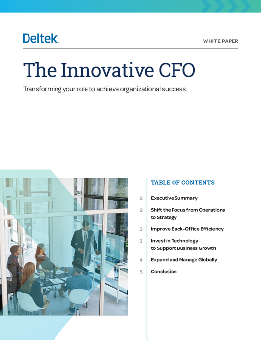 The Innovative CFO