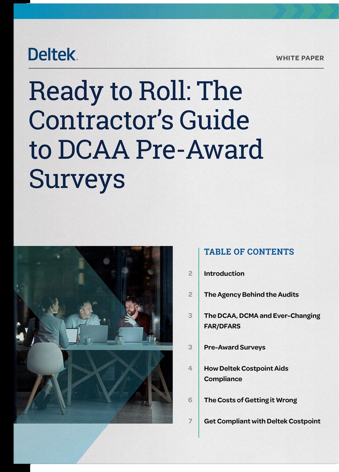 The Contractor's Guide to DCAA Pre-Award Survey