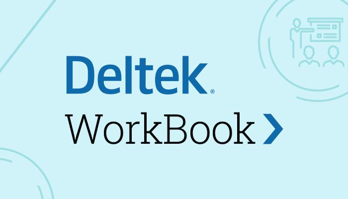 WorkBook from Deltek