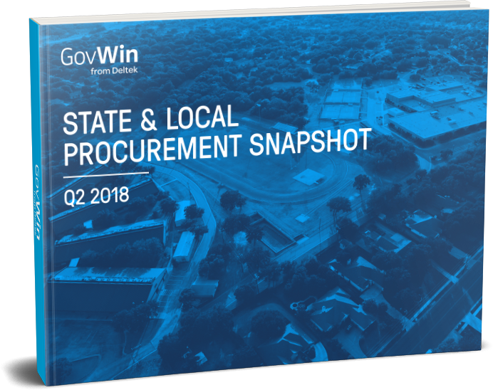 GovWin's State and Local Procurement Report for Q2 2018