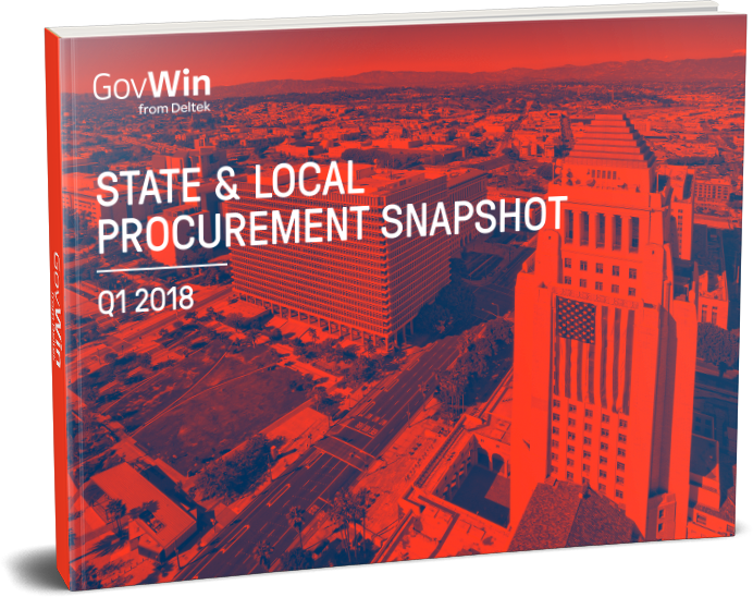 GovWin's State and Local Procurement Report for Q1 2018