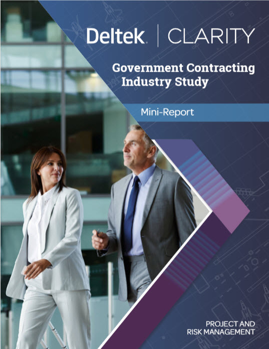[Report] 10th Annual Deltek Clarity GovCon Project & Risk Management Study