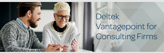 Deltek Vantagepoint for Consulting Firms