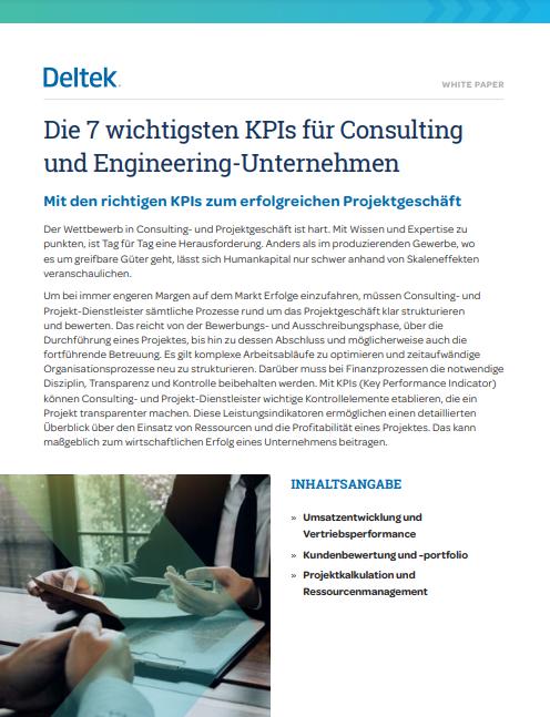 DE 7 KPIS