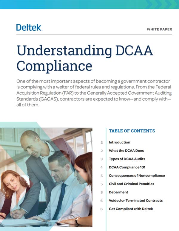 Understanding DCAA Compliance
