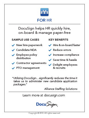 DocuSign for HR Use Case