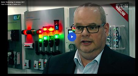 Eaton TechnoDag Machinebouw Internet of Things (IoT).Smart Industry begint met slimme componenten
