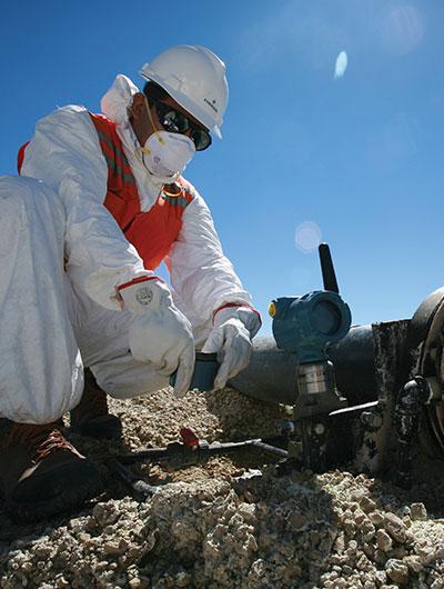 Soluciones de medición inalámbrica para la industria minera
