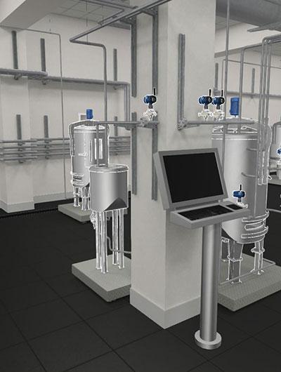Entenda como implementar um Digital Twin escalavél e de maneira rápida, com retornos imediatos para treinamentos de operadores e melhorias de processo