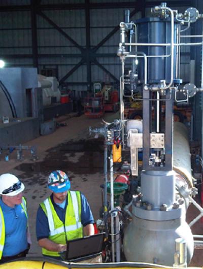 Válvula digital optimizada: mejoras en acondicionadoras de vapor para bypass de turbina