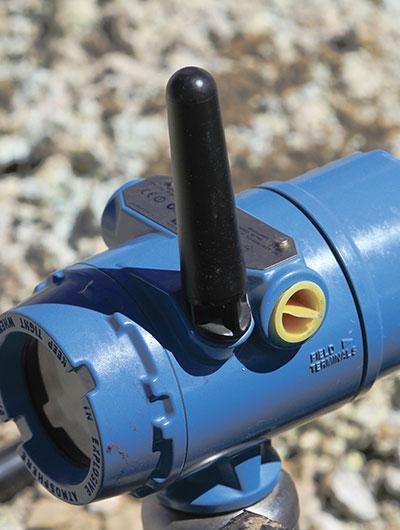 Soluções de medição wireless para indústria de mineração