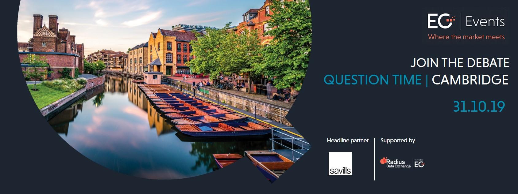 EG Question Time Cambridge| 31.10.19