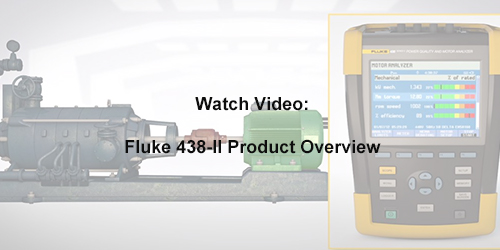 About the Fluke 438-II Power Quality and Motor Analyzer