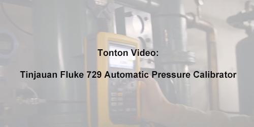 Fluke 729 Automatic Pressure Calibrator Overview
