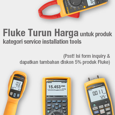 Price down on selected Fluke Service installation tools, Enquire now and get additional 5% discount off your purchase