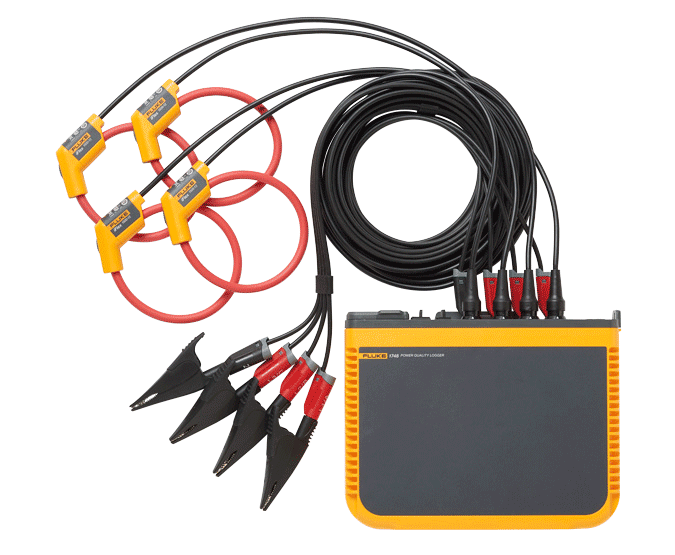 Fluke 1742, 1746, 1748 Three-Phase Power Quality Loggers