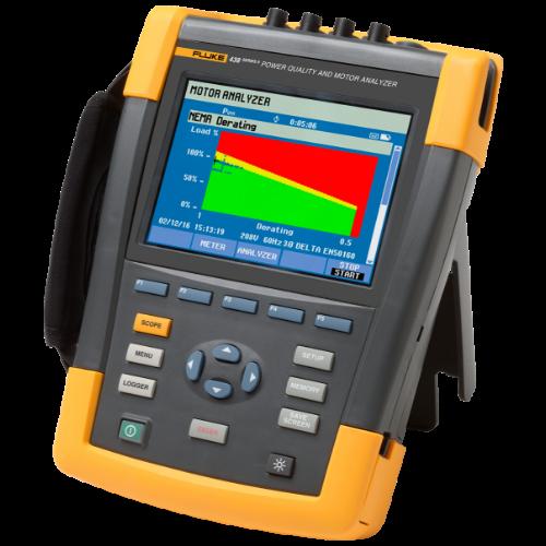 Fluke 438-II Power Quality & Motor Analyzer