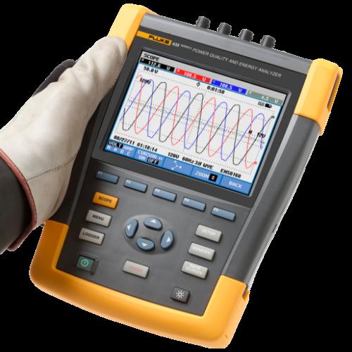 BUY Fluke 435-II Power Quality & Energy Analyzer FREE Fluke TiS20+ Thermal Imaging Camera