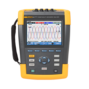 Fluke 435-II Power Quality and Energy Analyzer
