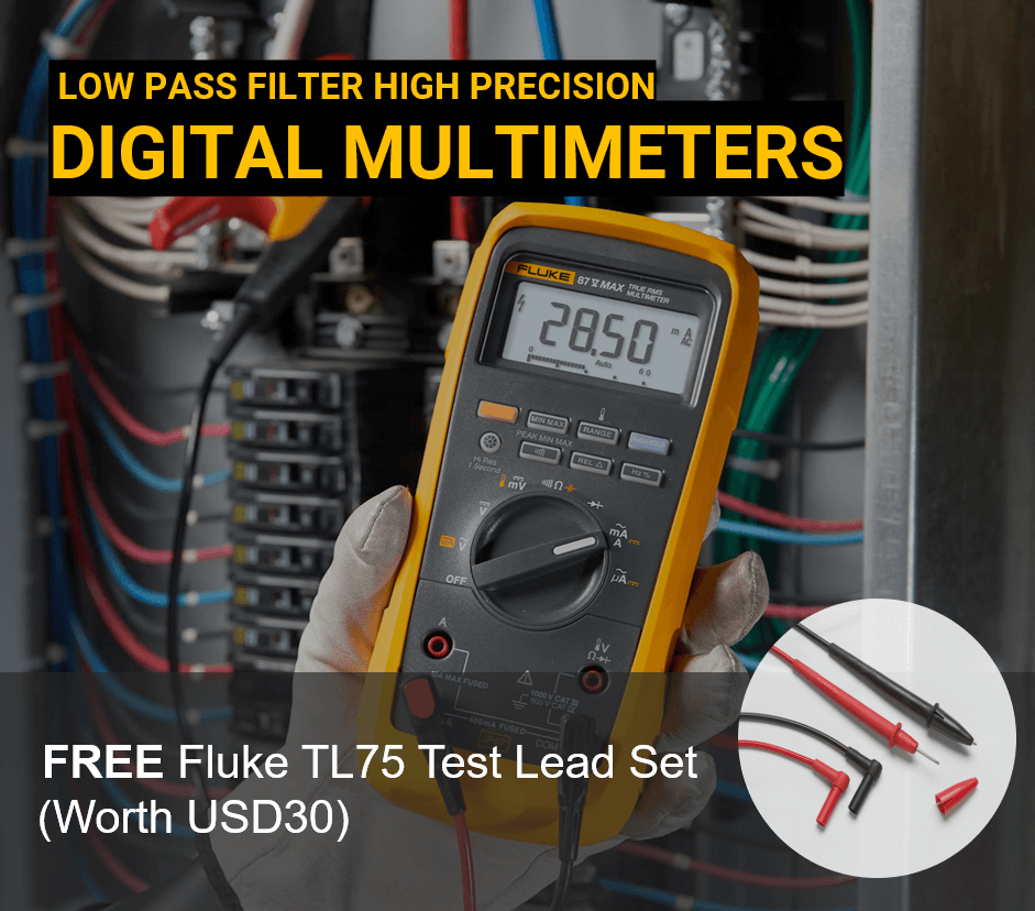 LOW PASS FILTER HIGH PRECISION DIGITAL MULTIMETERS