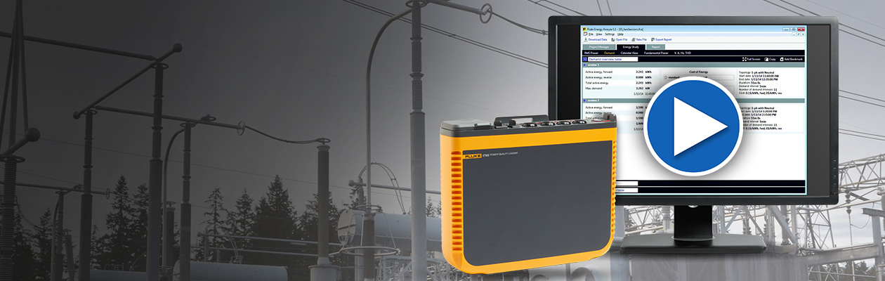 Fluke 1748 Power Quality Logger Overview Video