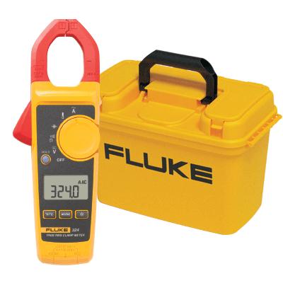 Fluke 324 True-RMS Clamp MEter & Fluke C1600 Gear Box