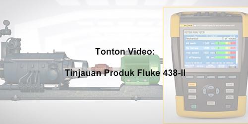 About the Fluke 438-II Power Quality and Motor Analyzer