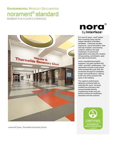 EPD norament Brochure