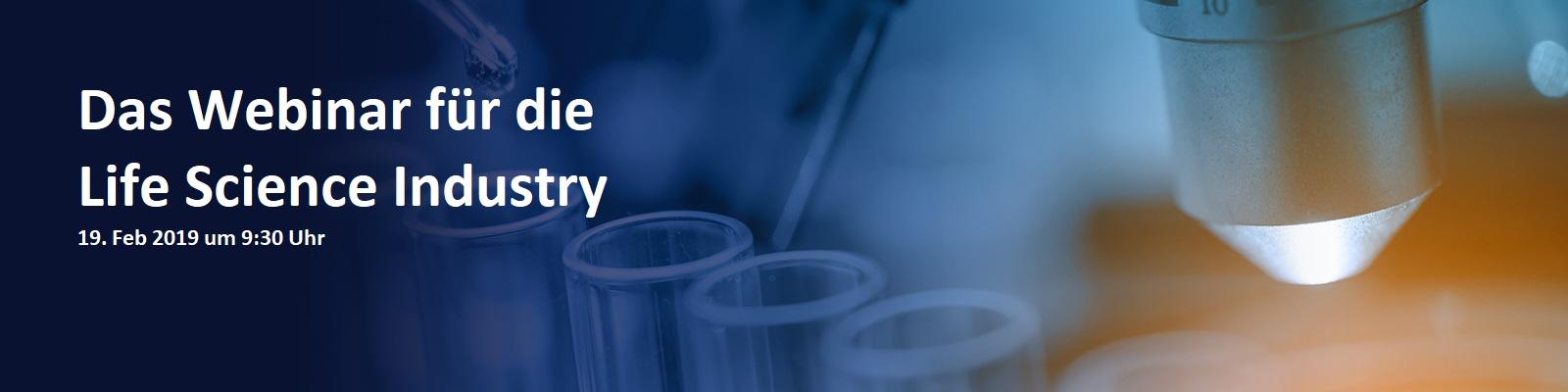 Supply Chain Digitalisierung für die Life Science Industry