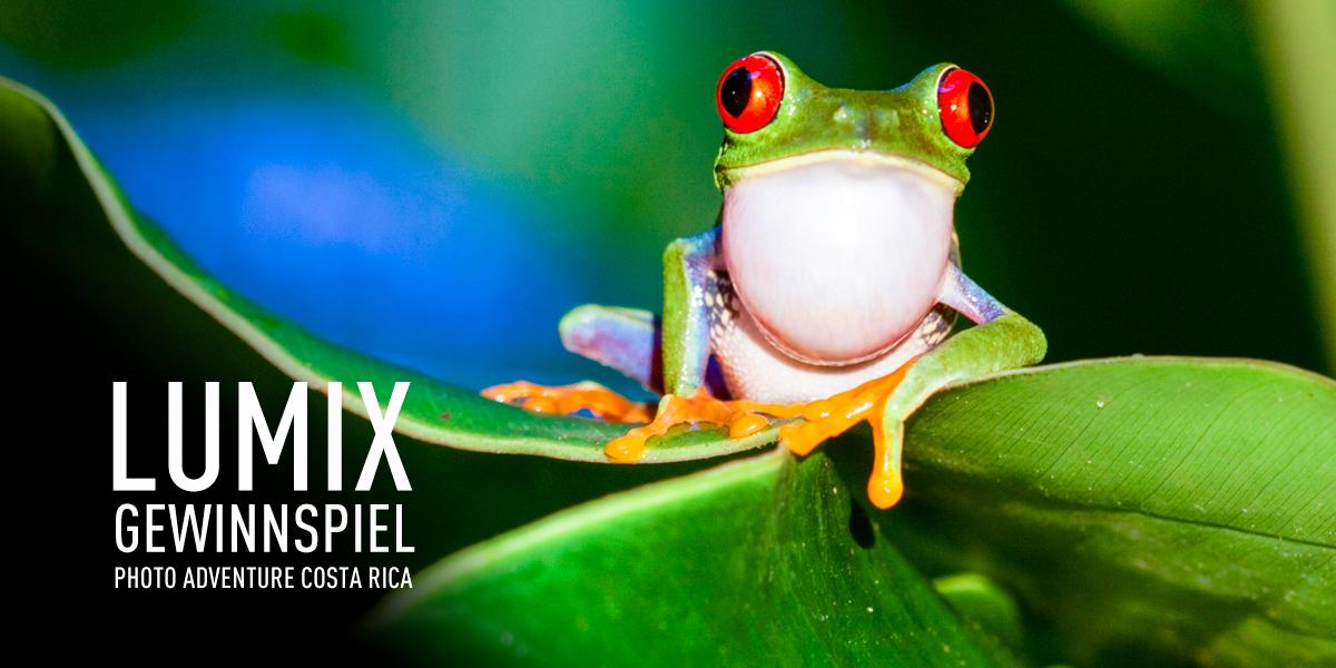 Reise nach Costa Rica Gewinnspiel LUMIX Photo Adventure