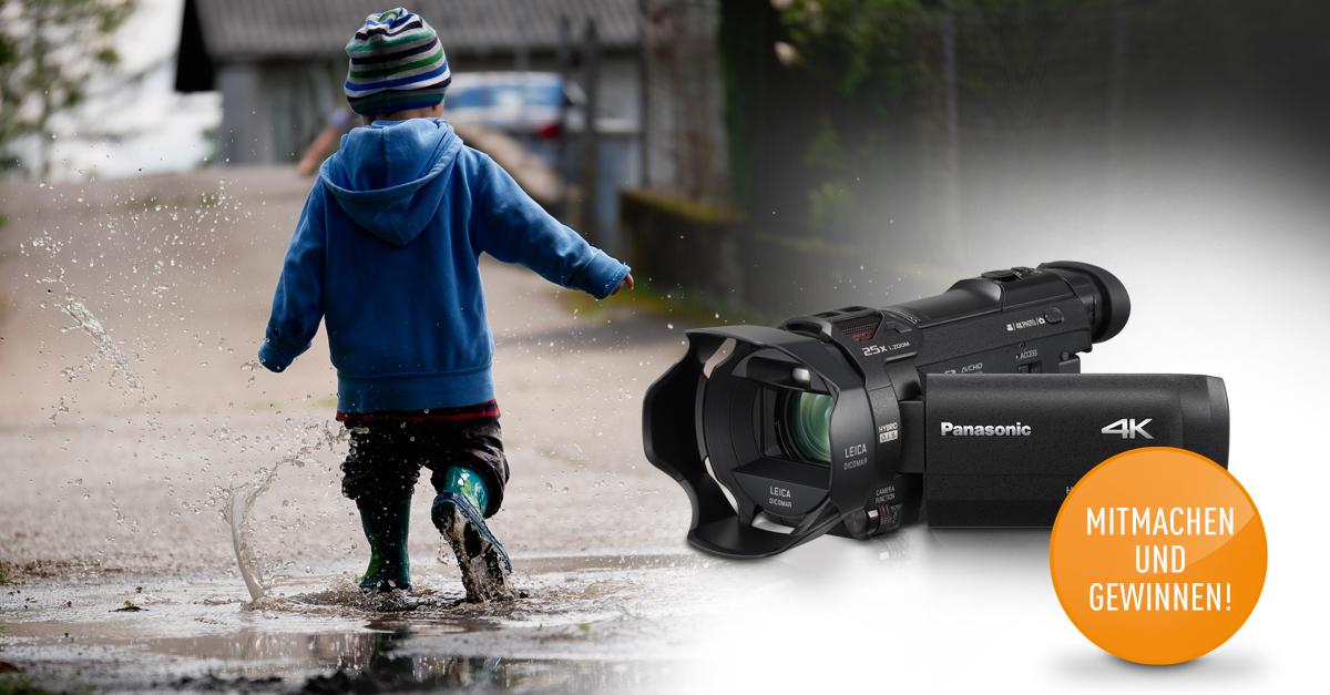 Gewinnspiel Panasonic Camcorder No. 2 VXF999