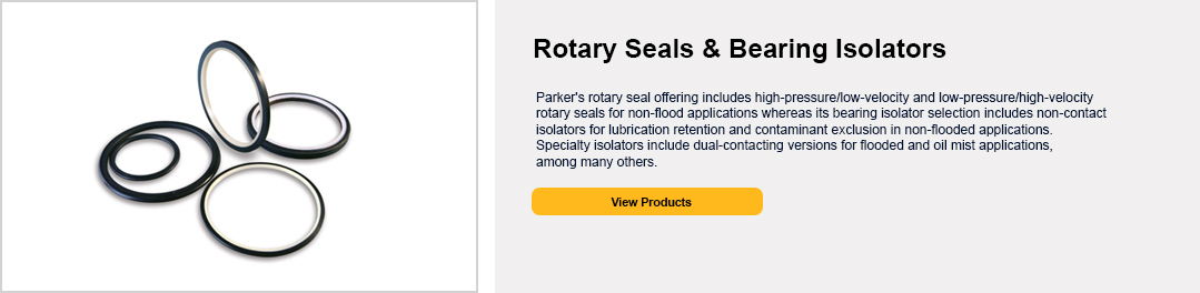 Rotary Seals & Bearing Isolators