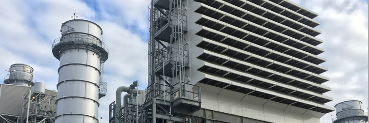 Gas Turbine at PowerGen Plant